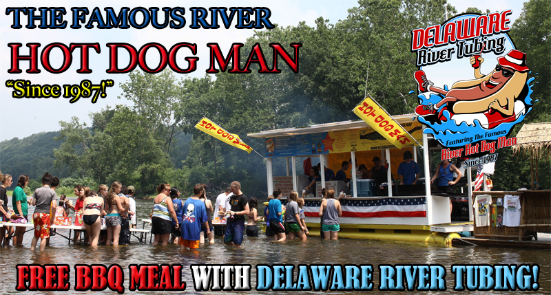 The Famous River Hot Dog Man